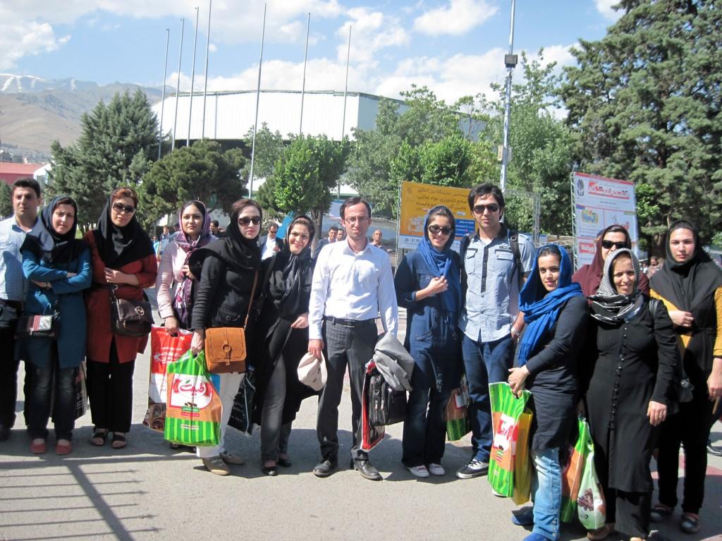 بازدید از نمایشگاه بین المللی صنایع غذایی تهران خرداد ماه 1392